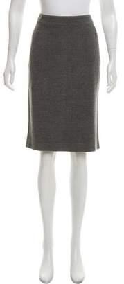 Kiton Wool-Blend Pencil Skirt w/ Tags