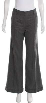 Amanda Wakeley Wool Mid-Rise Pants