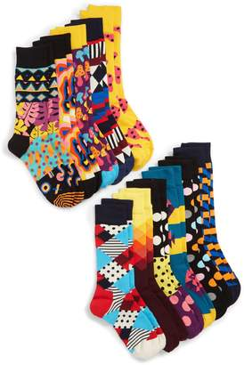 Happy Socks 10-Year Anniversary 10-Pack Gift Box Socks