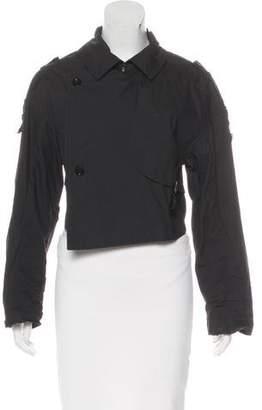 Fifth Avenue Shoe Repair Cropped Long Sleeve Jacket