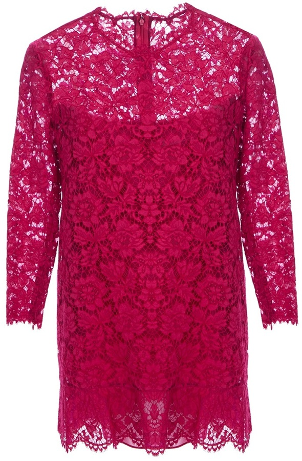 Valentino lace cocktail dress
