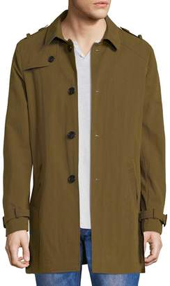 David Naman Men's Trench Coat