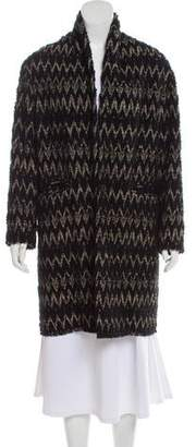 Isabel Marant Textured Chevron Coat