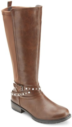 Olivia Miller Coffman Women's Pearl Studded Boots