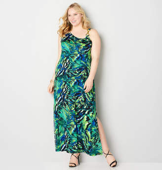 Avenue Swirl Bar Link Maxi Dress