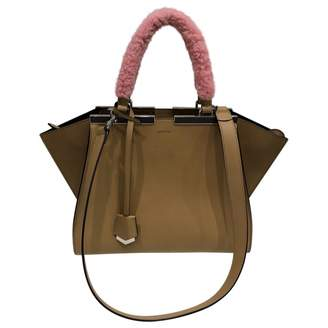 Fendi 3Jours Camel Leather Handbag