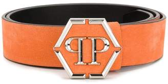 Philipp Plein Statement logo belt