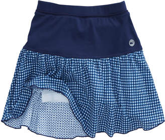 Vineyard Vines Girls Gingham Lace Performance Skort