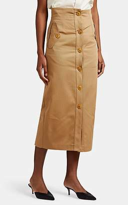 Givenchy WOMEN'S TWILL MILITARY PENCIL SKIRT