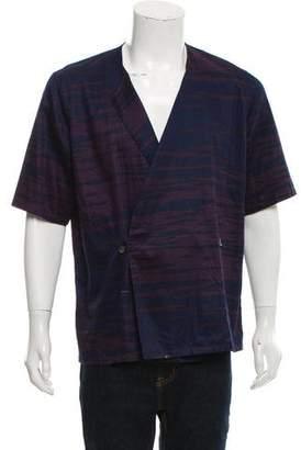 Robert Geller 2016 Satin Pierre Kimono Shirt w/ Tags
