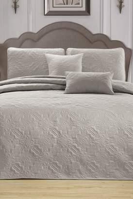 Duck River Textile Carlotta 5-Piece King Bedspread Set - Taupe