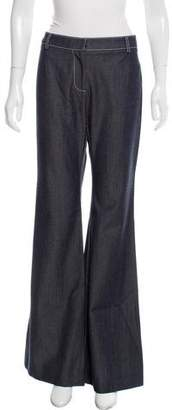 Wes Gordon Mid-Rise Flared Jeans w/ Tags