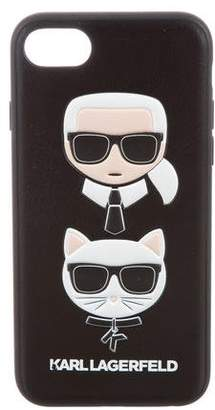 Karl Lagerfeld by Leather iPhone Case