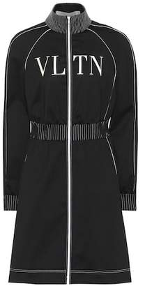 Valentino VLTN technical jersey dress
