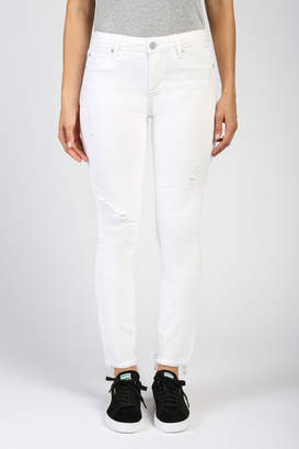 Articles of Society Distressed White Skinny