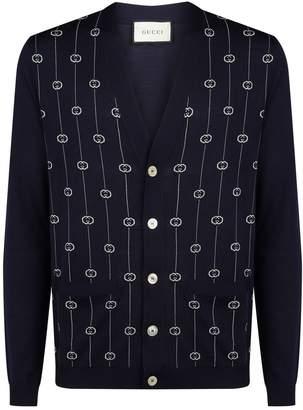 Gucci String Pattern Cardigan