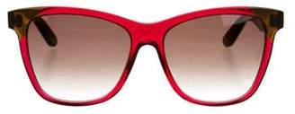 Bottega Veneta Oversize Cat-Eye Sunglasses