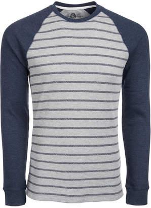 American Rag Men Hash Stripe Raglan-Sleeve Thermal T-Shirt