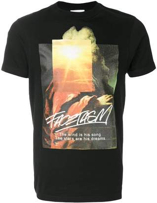 Facetasm printed T-shirt
