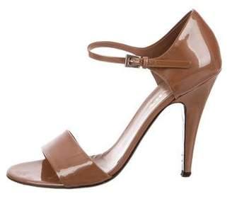 Prada Patent Leather Strap Sandals