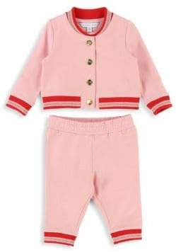 Little Marc Jacobs Baby Girl's & Little Girl's Two-Piece Track Suit