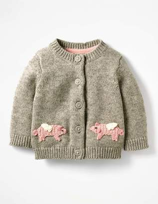 Boden Characterful Crochet Cardigan