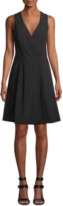 Fame & Partners The Emberson V-Neck Sleeveless Dress