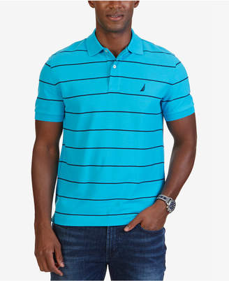 Nautica Men's Classic-Fit Striped Performance Polo