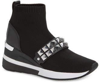 MICHAEL Michael Kors Skyler Embellished Wedge Bootie Sneaker