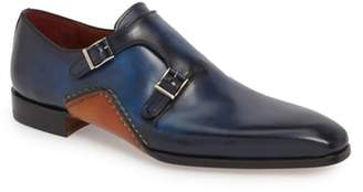 Magnanni Manganni Kojo Double Buckle Monk Shoe