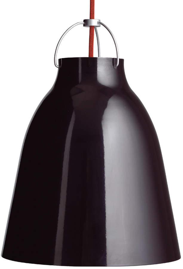 Caravaggio P2 Pendelleuchte glänzend, schwarz