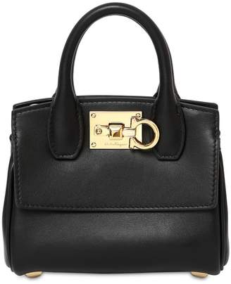 Salvatore Ferragamo THE STUDIO MICRO TOP HANDLE BAG