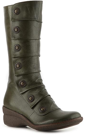 Crown Vintage Pleated Boot