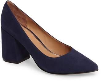 75a94015ab6 Blue Block Heel Pumps - ShopStyle