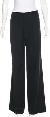 Jean Paul Gaultier Wool-Blend Wide-Leg Pants $145 thestylecure.com