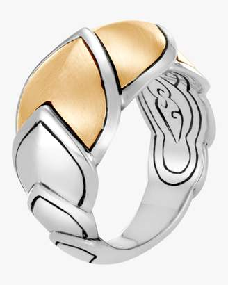 John Hardy Naga Brushed Gold Ring