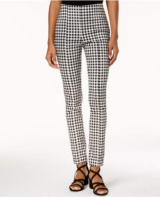 XOXO Juniors' Floral-Print Pull-On Pants