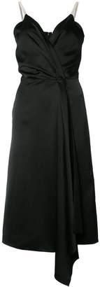 Victoria Beckham v-neck wrap dress