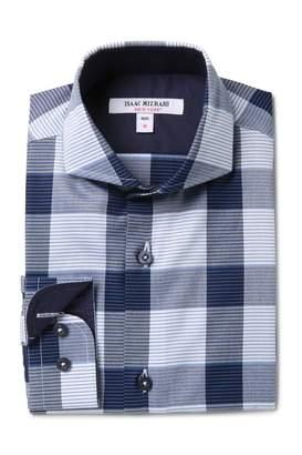 Isaac Mizrahi Cotton Dress Shirt (Toddler, Little Boys, & Big Boys)