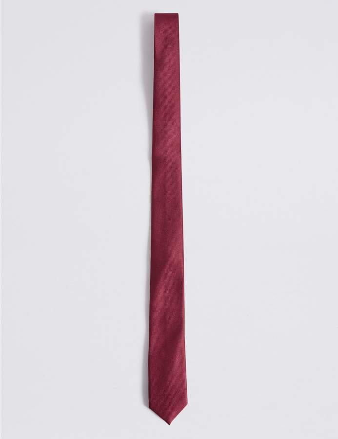 Marks and Spencer Skinny Fit Textured Tie