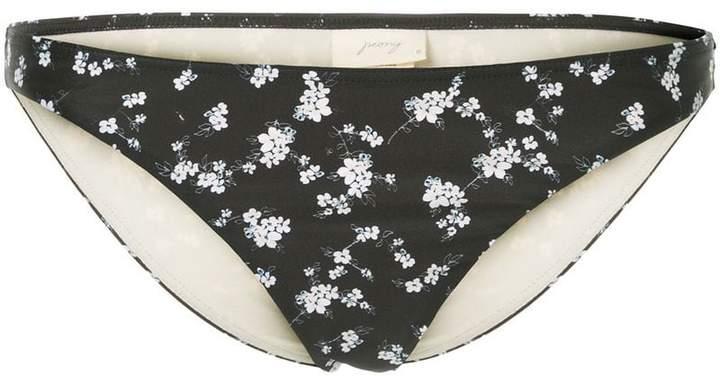 Peony Whimsy staple bikini bottoms