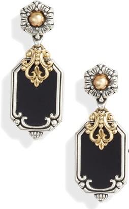 Konstantino Calypso Shield Drop Earrings