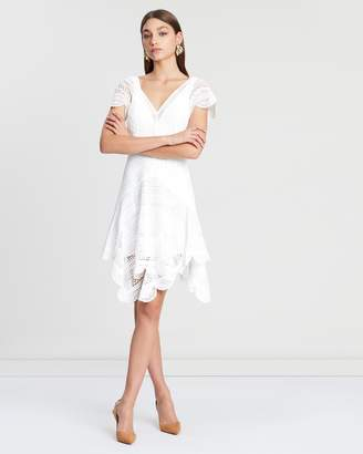 Lover Ode Lace Mini Dress