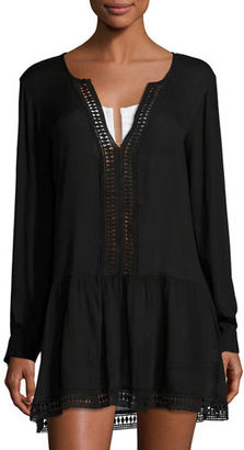 Athena Cabana Willow Coverup Tunic $128 thestylecure.com