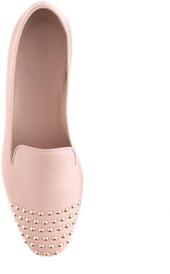 J.Crew Darby studded cap toe loafers