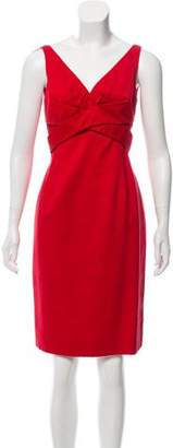 Alexander McQueen Textured Knee-Length Dress
