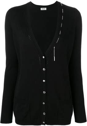 Liu Jo chain detail cardigan