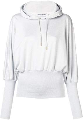 Opening Ceremony ribbed waist hoodie