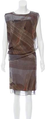 Reed Krakoff Printed Midi Dress