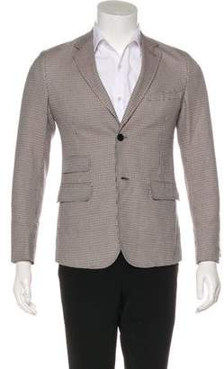 Band Of Outsiders Wool Houndstooth Blazer